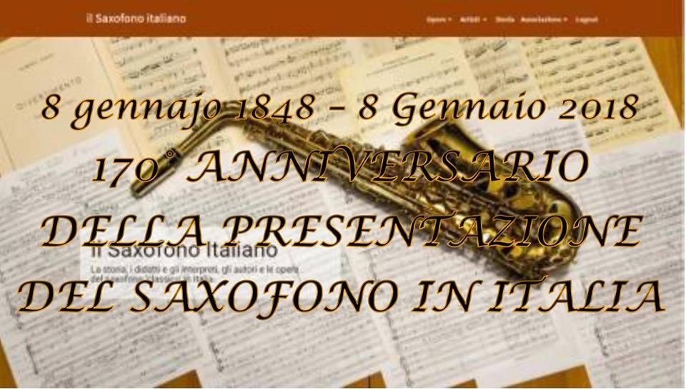 170° anniversario saxofono italiano
